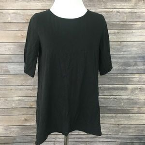 Madewell Back Zip Swing T-shirt